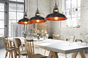 Lampade vintage industriali illuminazione casa uffici ristoranti e bar