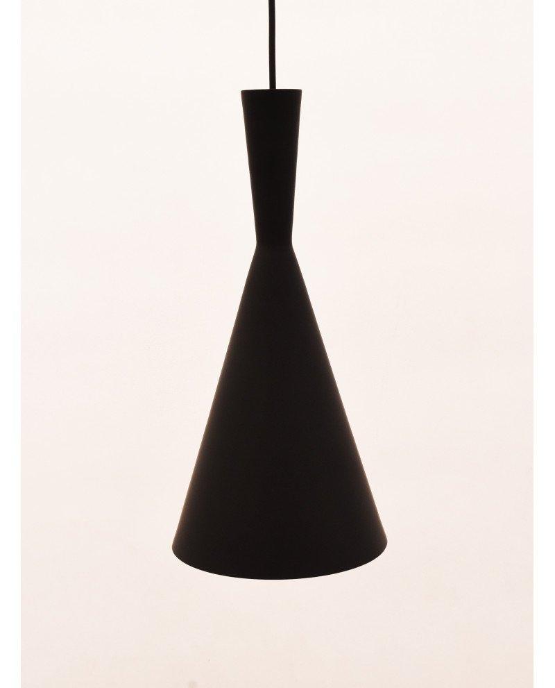 lampadario industriale metallo rame nero foggi 3 test