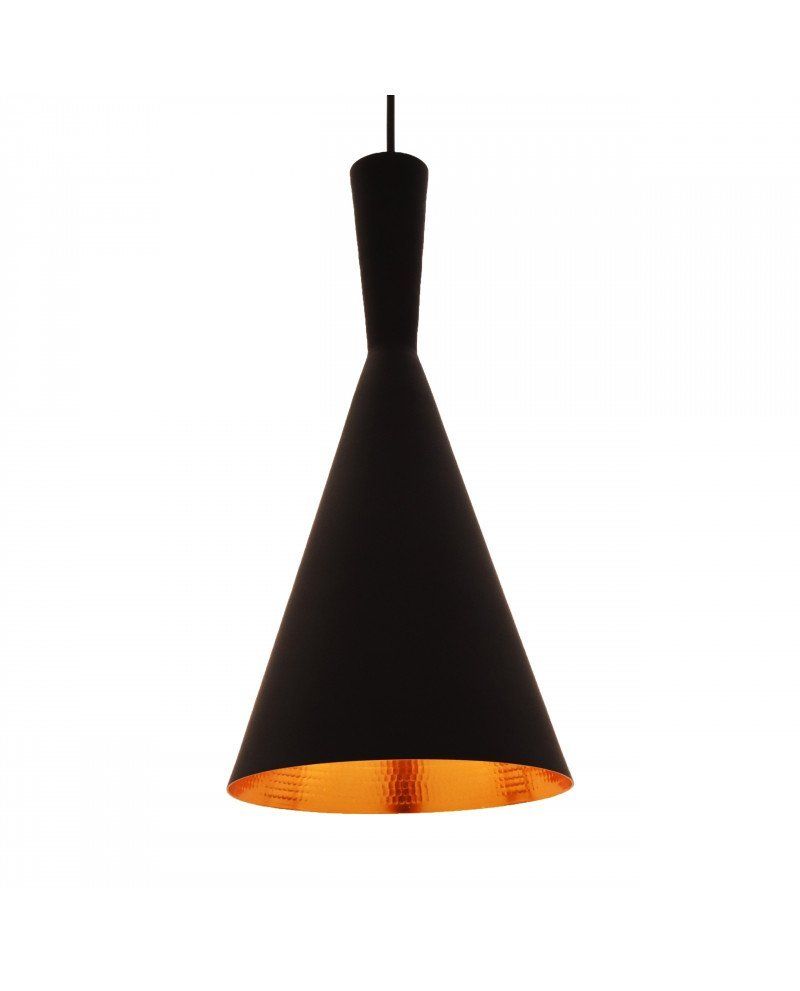 lampadario industriale metallo rame nero foggi