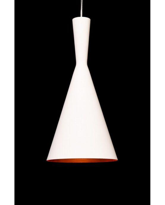 lampadario vintage industriale bianco rame Foggi
