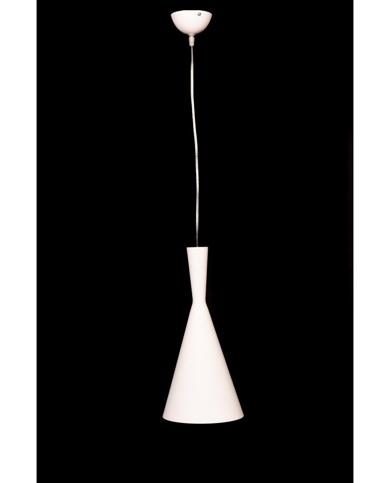 lampadario vintage industriale bianco rame 3 test