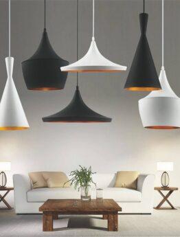 set lampadari industriali metallo rame tipo Foggi