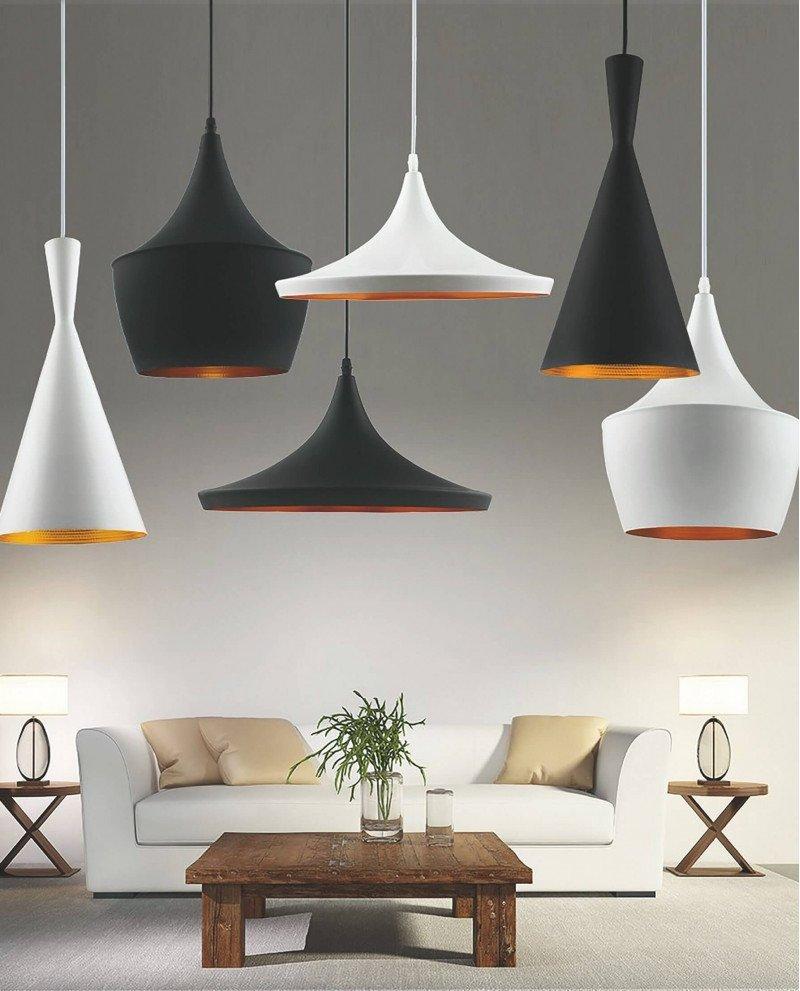 set lampadari industriali metallo rame tipo Foggi test