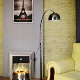 lampada da terra stile industriale per casa