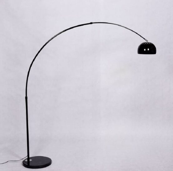 lampada a piantana curva