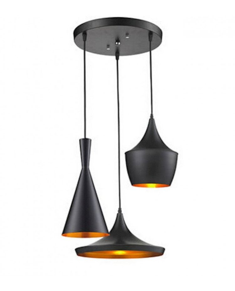 Lampadario vintage nero particolare - Lampade Vintage e ...