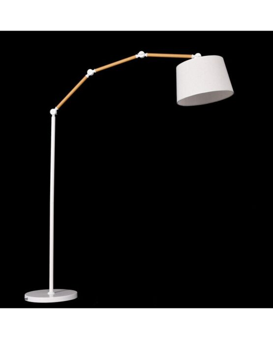lampada da terra con paralume