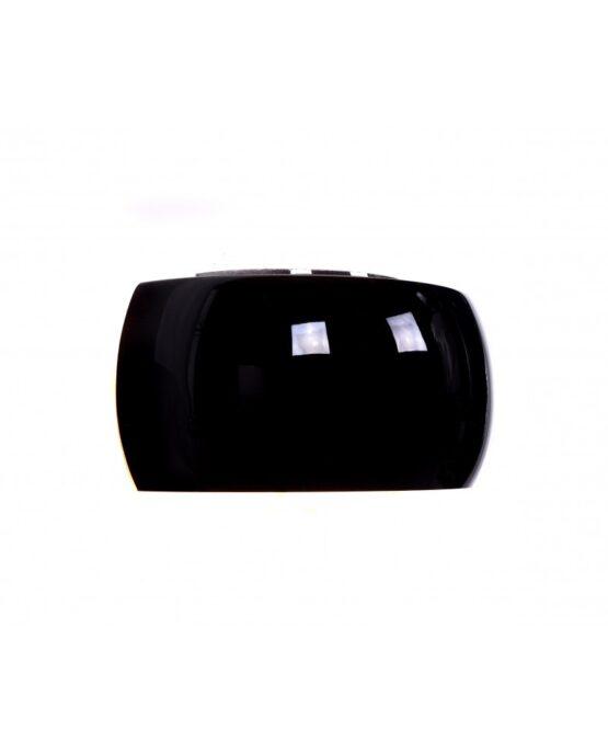 applique moderne nera di vetro