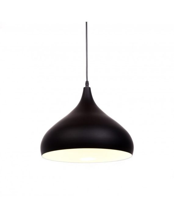 lampada a sospensione anni 50 argento vintage 1 nero