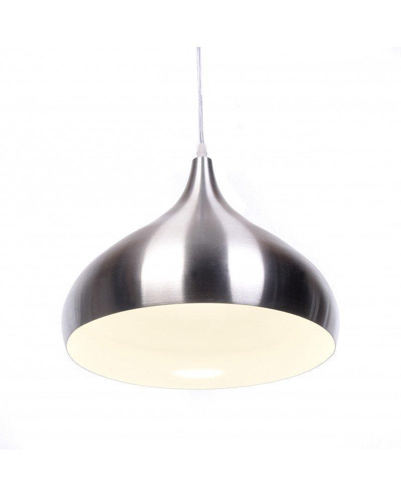 lampada a sospensione anni 50 argento vintage 2 test