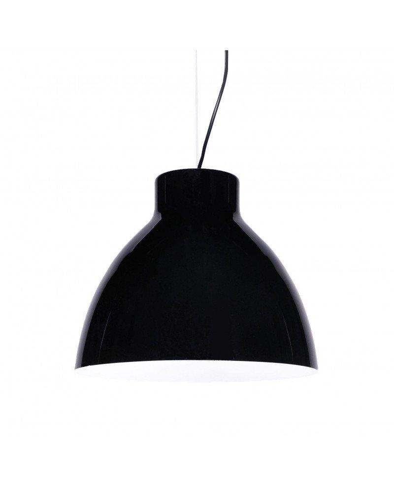 lampada da soffitto cornella nera 1 test