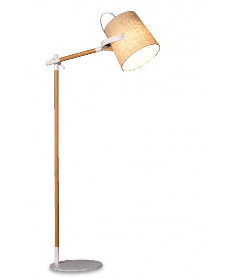 lampada da terra stile scandinavo