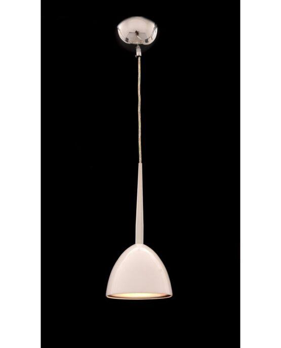 lampada vintage anni 60 bora bianca