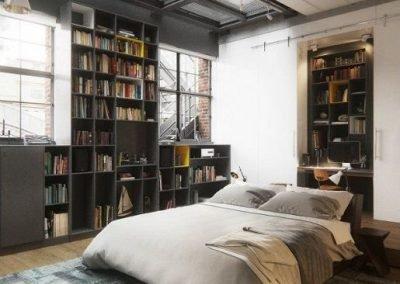 Loft stanza da letto
