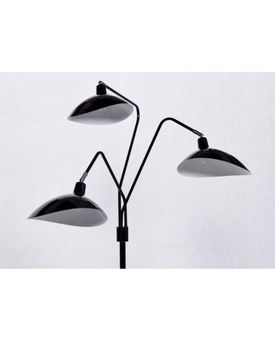 paralume nero lampada