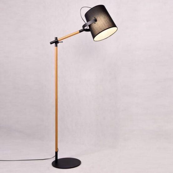 lampade legno con il paralume