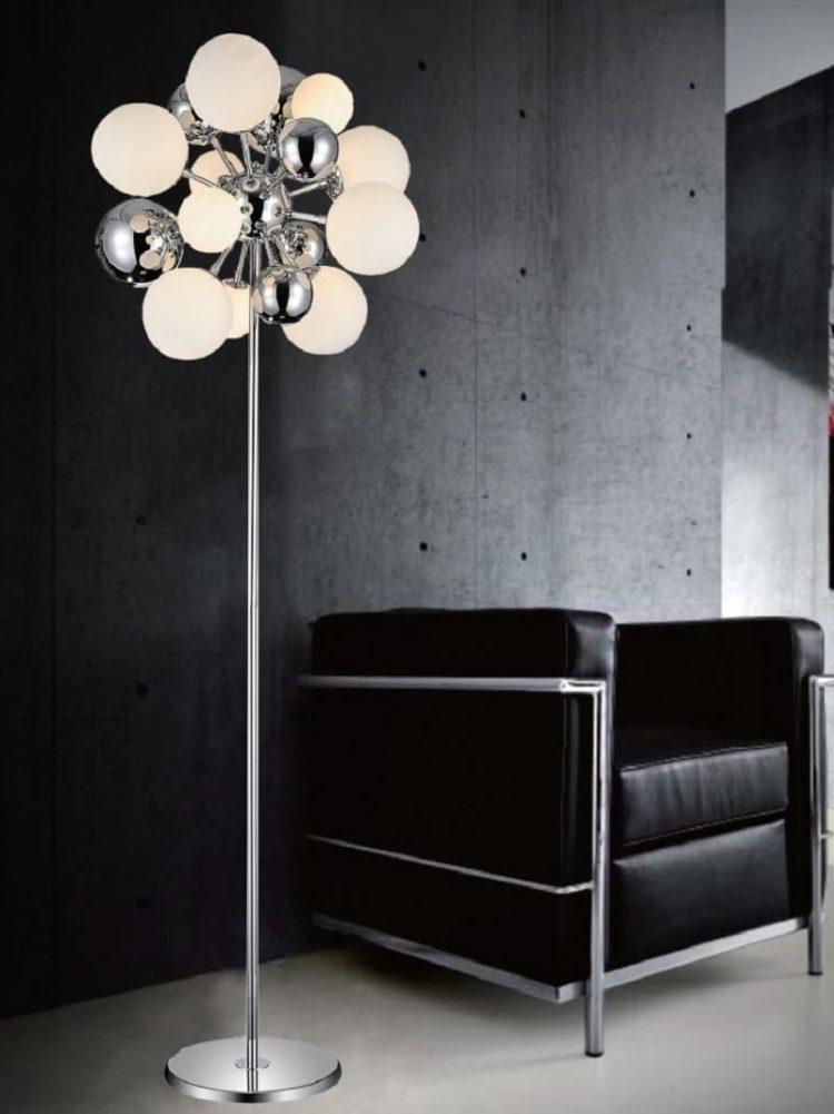 lampada per divano