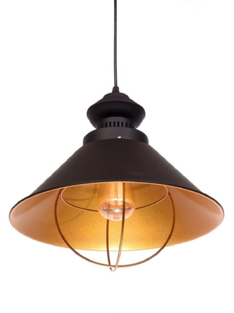 Lampadario Vintage nero stile nave in metallo gabbia industriale , Lampade  Vintage e Industriali