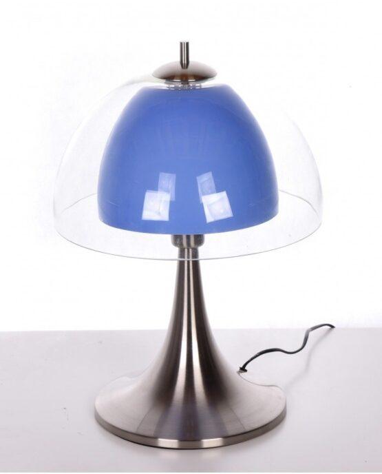 lampada design anni 70 a forma di fungo