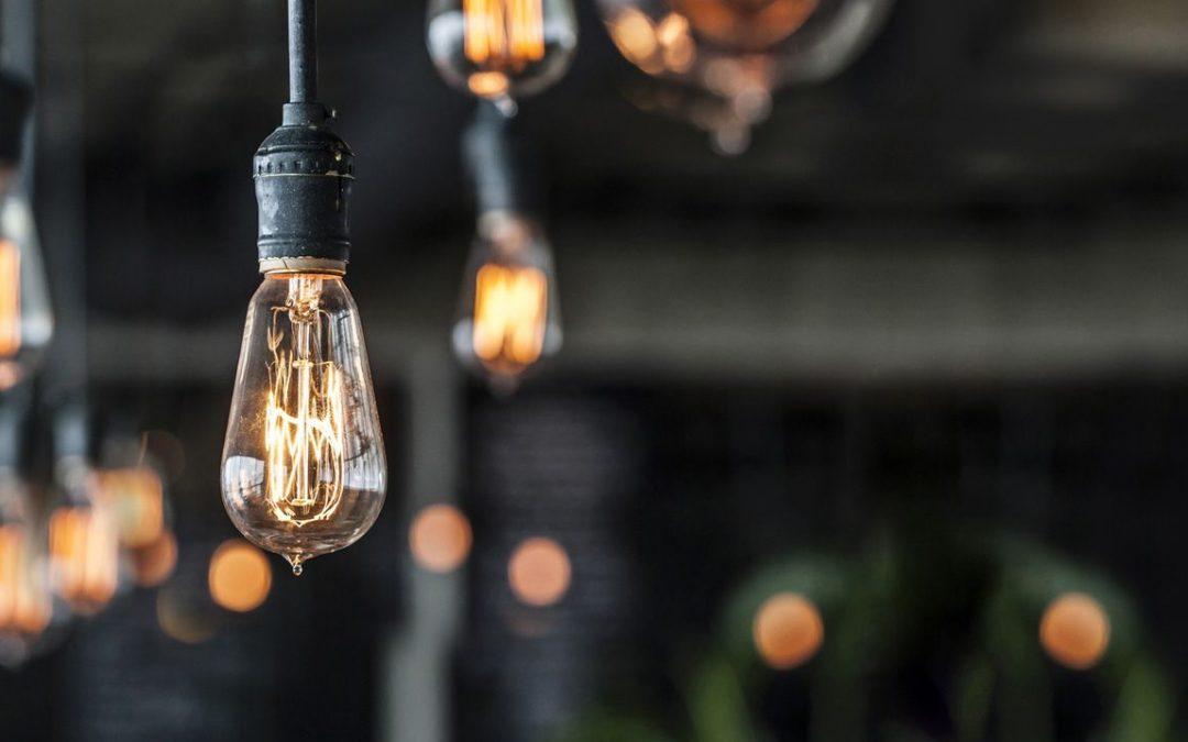 Lampadario stile industriale a led sugar leds c lampada a for Lampade industriali ikea