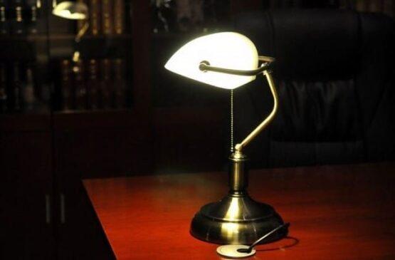 lampada ministeriale anni 30
