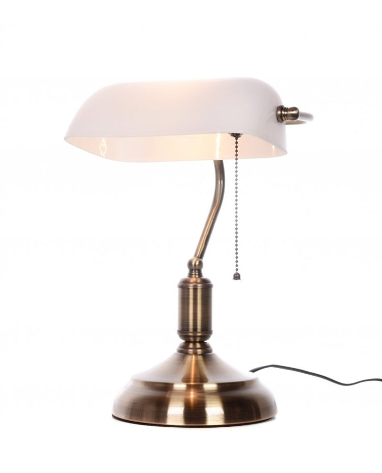 paralume bianco lampada