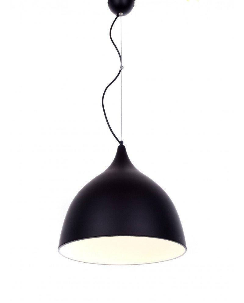 lampadario da soffitto vintage nero Vittorio 2 test