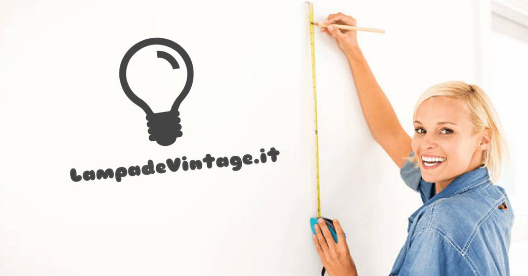 A quale altezza mettere una lampada al muro?