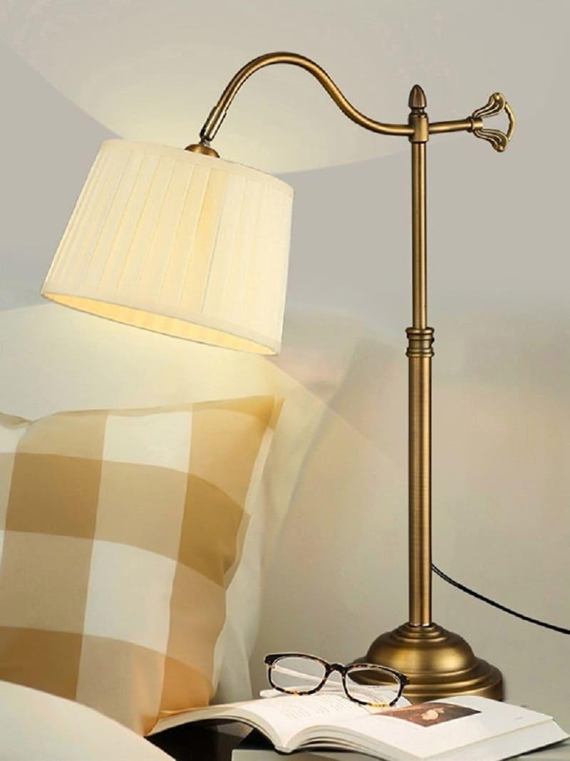 Lampada stile classico da comodino o tavolo lampade vintage e industriali - Lampada da tavolo vintage ebay ...