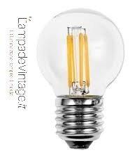 lampadina led con attacco E27 per lampade, lampdari, applique, plafoniere, lampade da tavolo