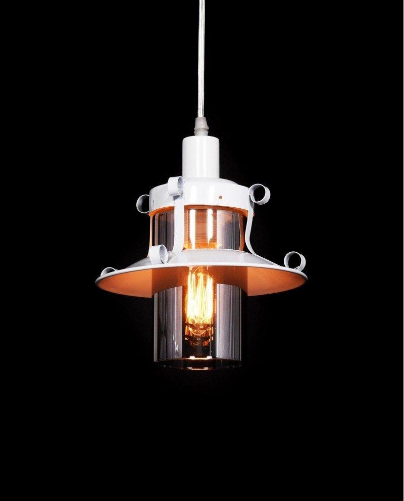 lampada stile marina lanterna bianca 1 test