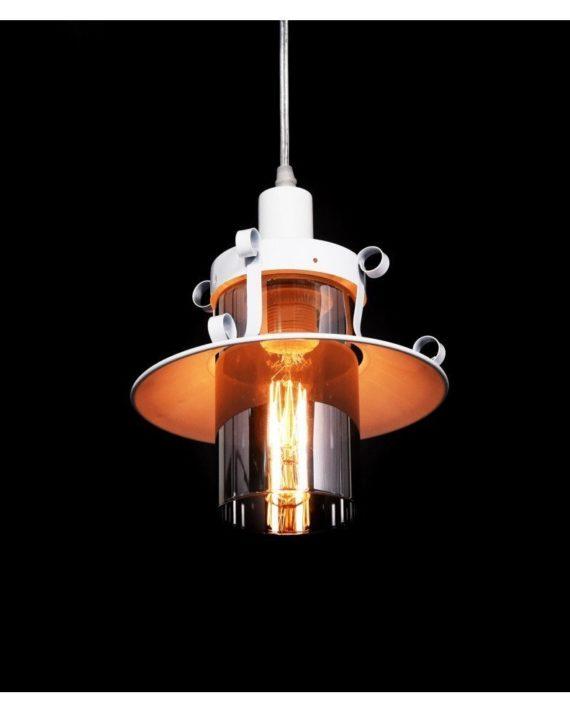 lampada stile marina lanterna bianca