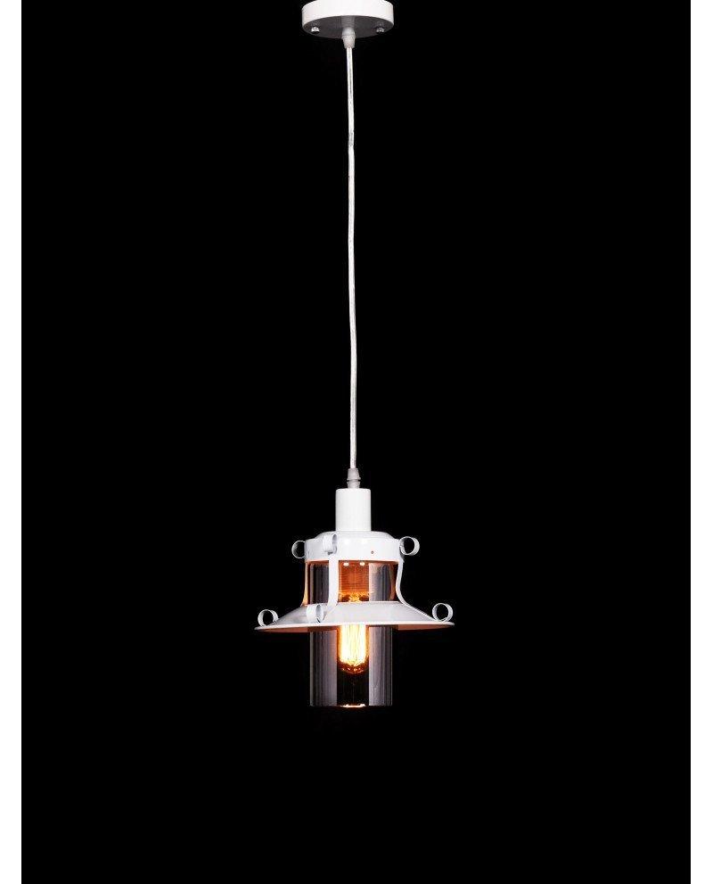lampada stile marina lanterna bianca 3 test