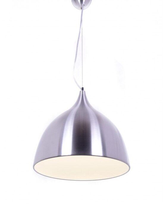 lampadario da soffitto vintage argento Vittorio 1