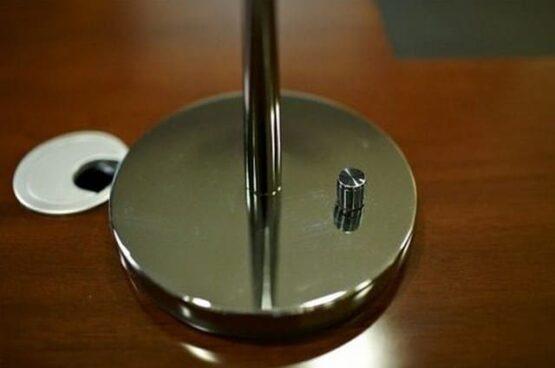 Interruttore lampada da tavolo elegante