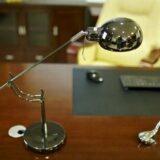 lampada metallo ottonato classica
