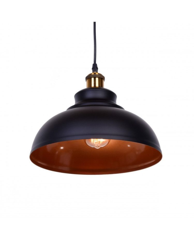 lampadario a sospensione industrial chic boggi nero