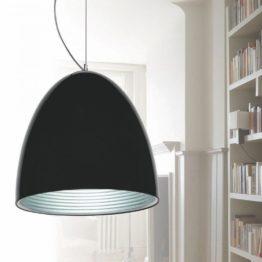 lampada a sospensione esclusivi in offerta metallo nero lucido