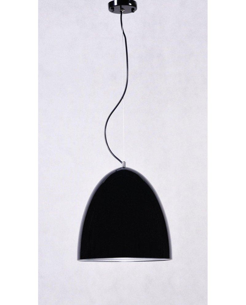 lampada a sospensione esclusivi in offerta metallo nero lucido 3 test