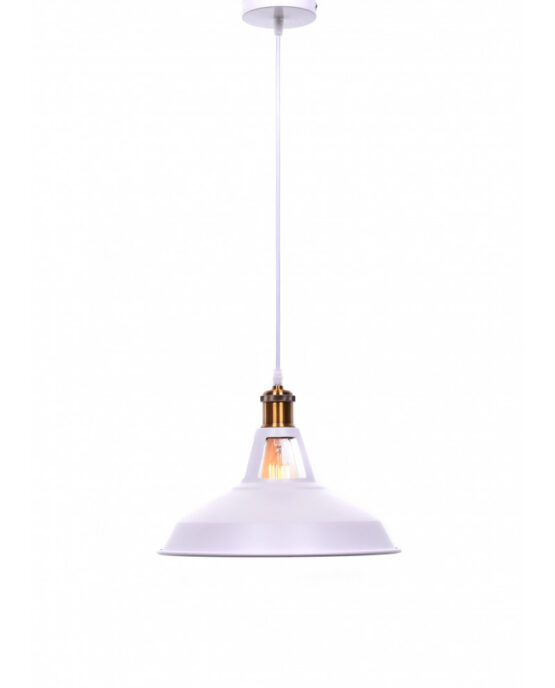 lampade soffitto vintage bianche