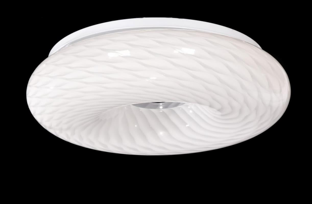 Plafoniere Vetro Vintage : Plafoniera design in vetro a forma di ciambella eviante d33