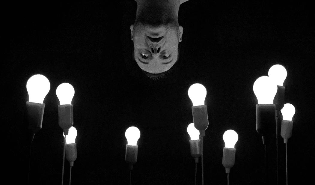 Lampada a da soffitto vintage