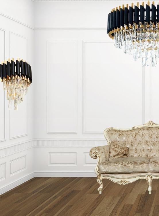 lampadario classico applique coordinate