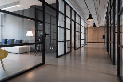 Illuminazione riunione ufficio