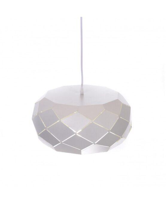 lampada a sospensione di design moderno di colore bianco