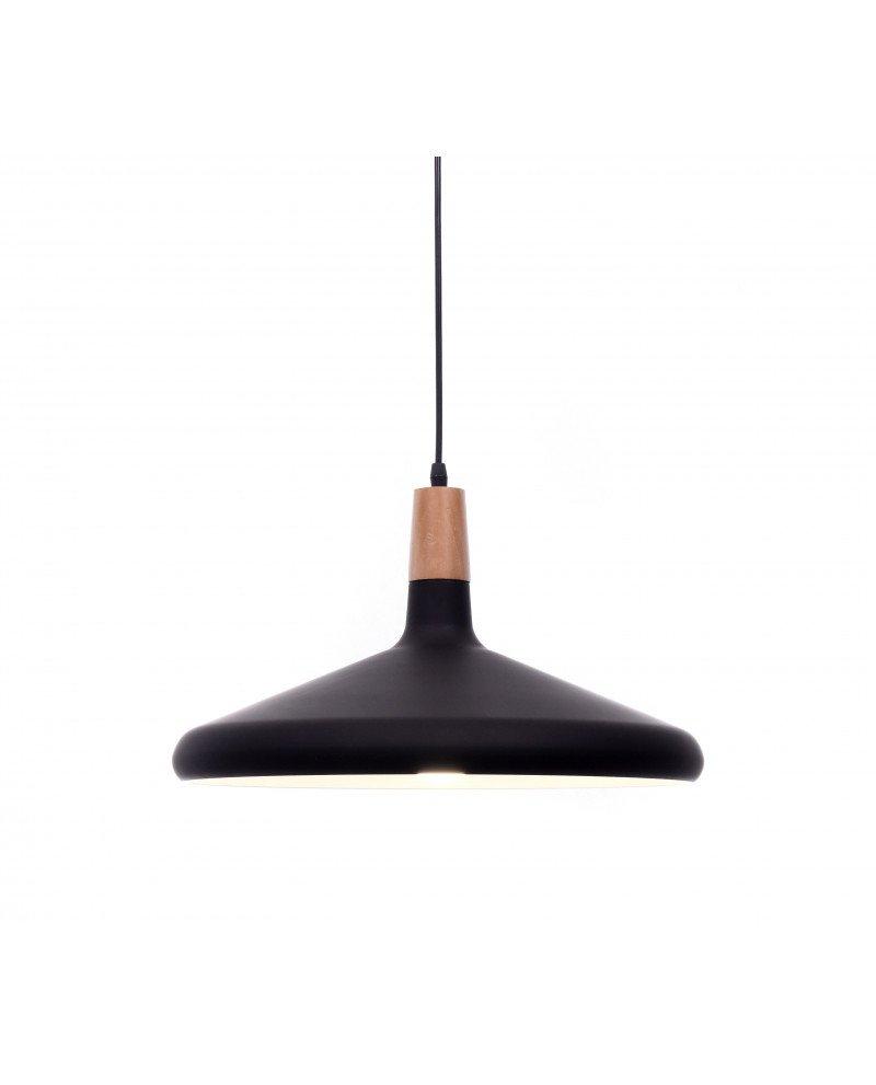 lampada a sospensione in metallo nera per ufficio economica 6 test
