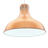lampada industrial chic ottone moderna