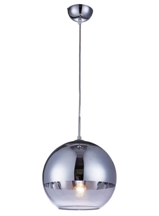 lampada a sospensione vetro forma rotonda
