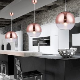 lampada veroni oro rosa