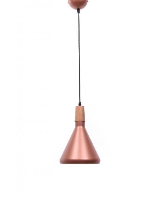 lampada vintage a sospensione rustica rame rosa per pub
